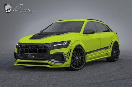 覺得Audi Q8太溫馴? 經過Lumma Design之手一切都不一樣了!