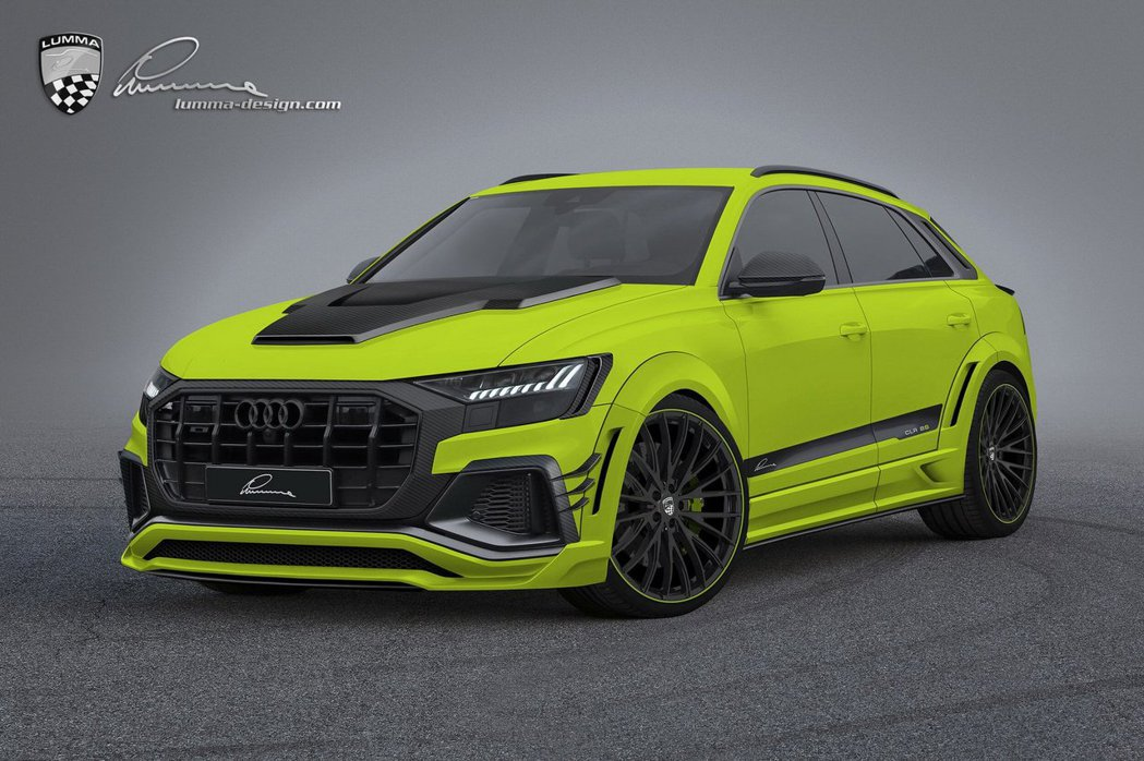Lumma Design操刀Audi Q8的外觀改造。 摘自Lumma Desi...