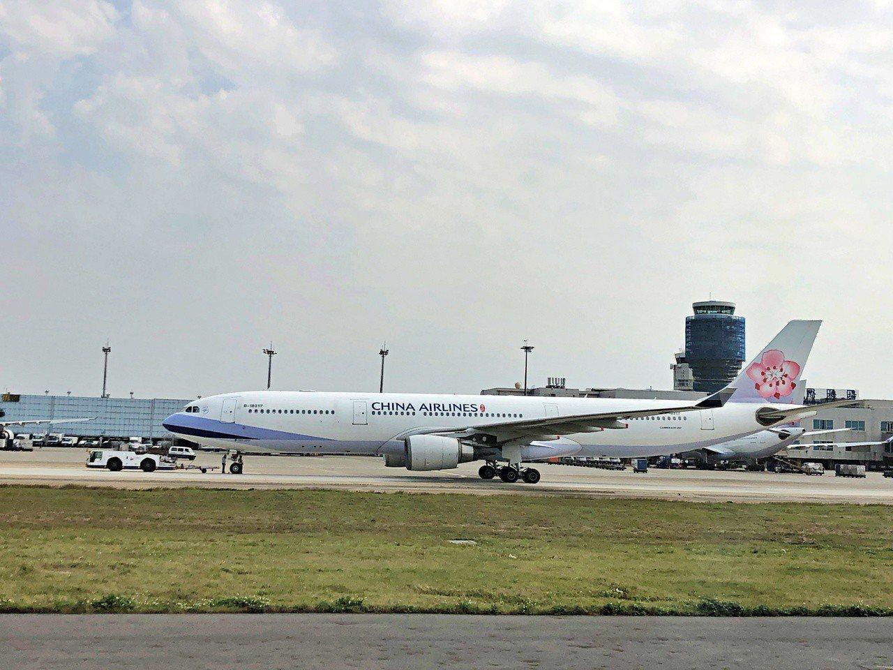 華航從2月下旬開始增班台北飛帛琉,從每周兩班改為三班。記者魏妤庭/攝影