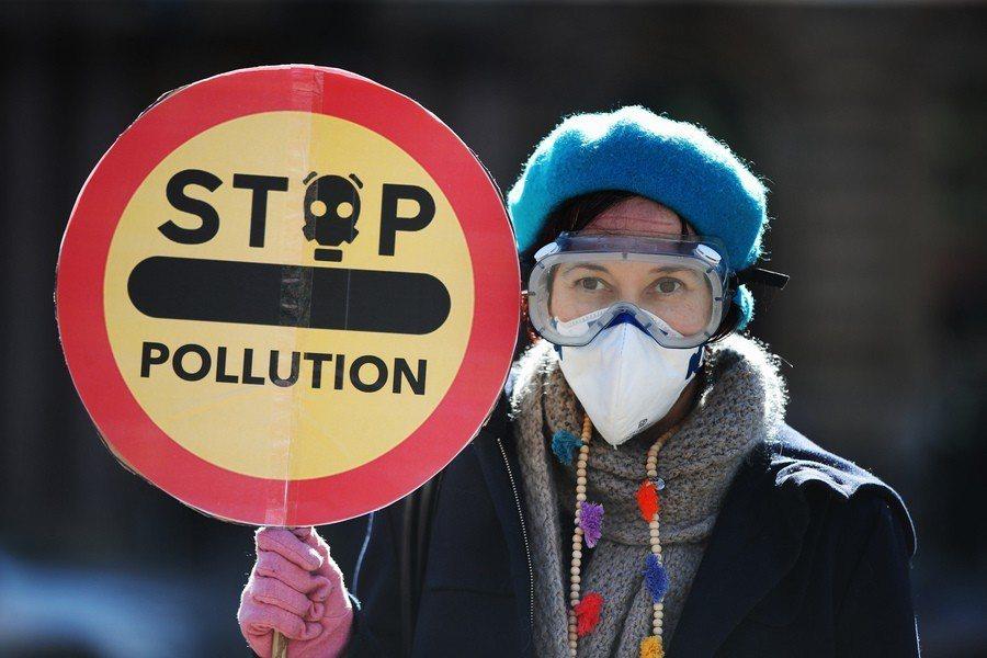 歐洲因為空污危害,超過其他地區平均值。(Photo by Friends of ...