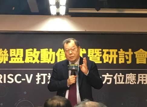 圖1:力晶科技董事長黃崇仁 (攝影:蔣士棋)