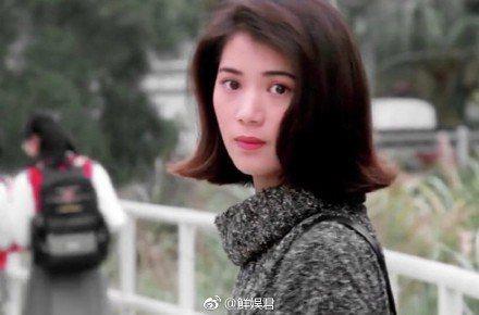 袁詠儀昔日美貌。圖/摘自微博
