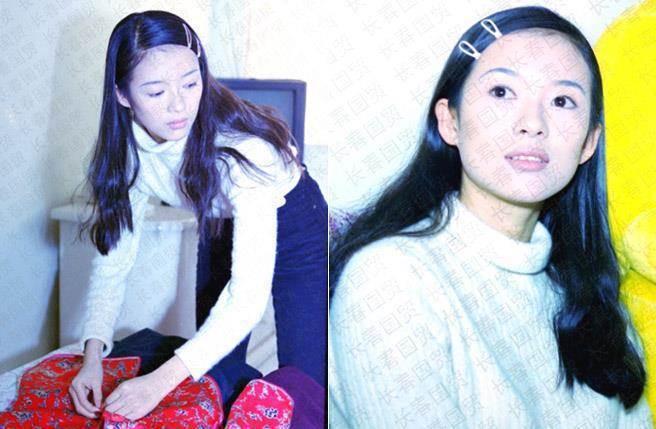 章子怡23歲的模樣充滿氣質。圖/摘自長春國貿微博