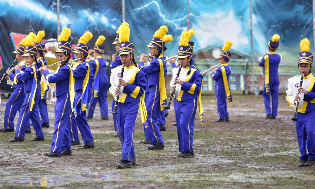 嘉義市博愛國小管樂團隊參加107學年度全國學生音樂比賽南區決賽,獲得管樂合奏國小...