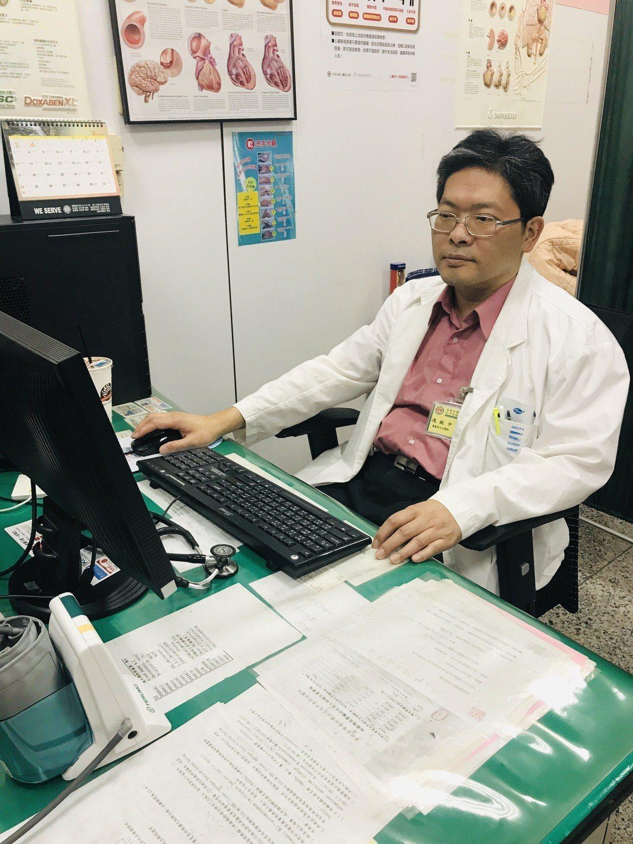 大甲李綜合醫院心臟內科醫師馮致中提醒,「預防勝於治療」不是標語而已,每年要定期體...