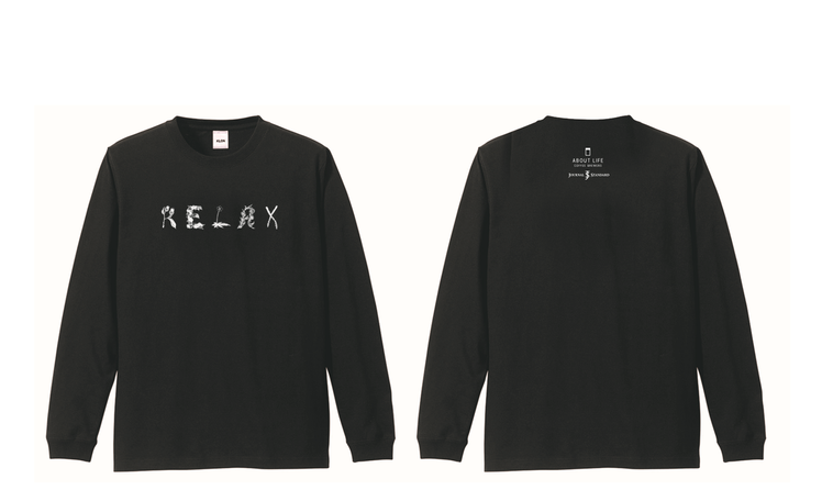 聯名長袖T shirts,定價1,300元。圖/JOURNAL STANDARD...