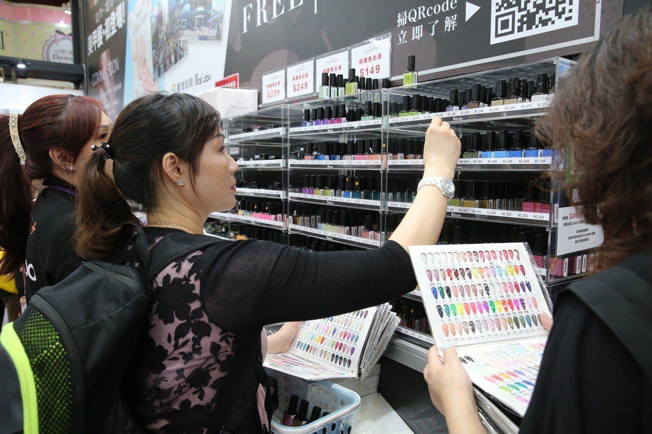 開春第一檔美容化妝品展,是採買春夏美妝品的好時機。圖/主辦單位提供
