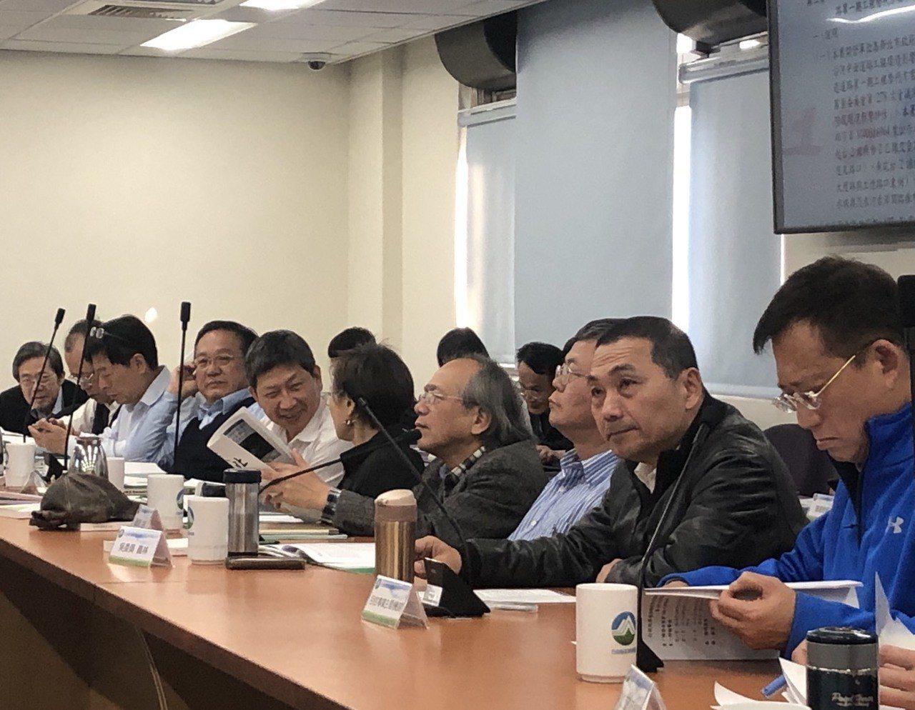 新北市長侯友宜今天出席環評大會。記者侯俐安/攝影