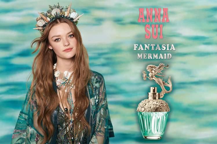 ANNA SUI童話美人魚淡香水由被譽為精靈系代表的時尚界新星Willow Ha...