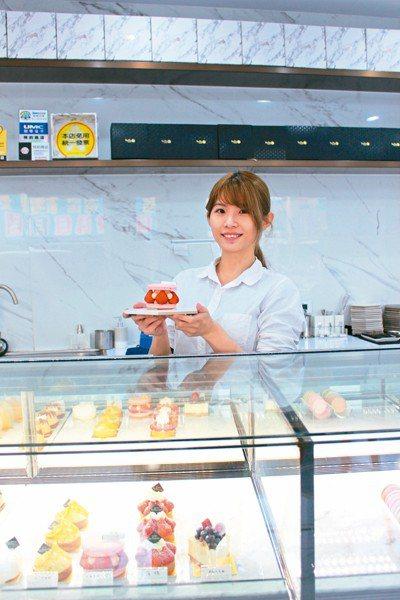 手工甜點店BonBon Sweet店,是打卡熱點。 記者張雅婷/攝影