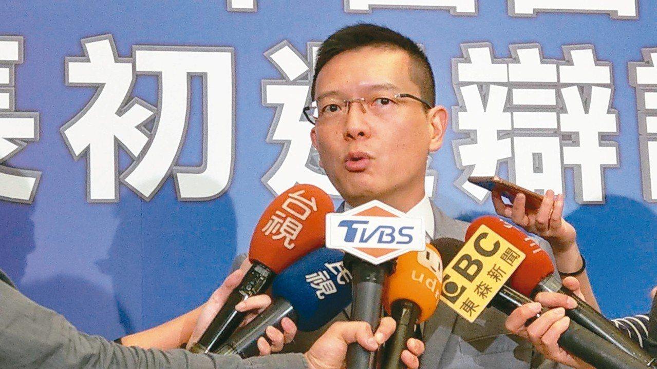 國民黨前立委孫大千表態有意參選北市第二選區立委。 記者楊正海/攝影