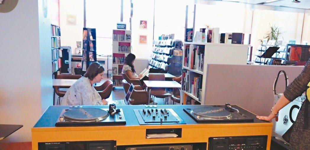 赫爾辛基Library 10裡有專業音響設備。 圖/曾淑賢提供
