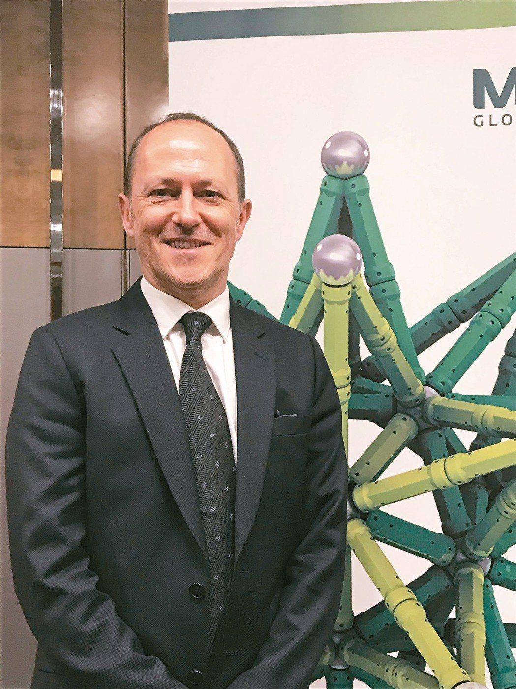 先機環球投資債券投資總監戴維斯(Huw Davies) 記者張瀞文/攝影
