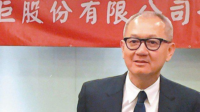 國巨集團董事長陳泰銘。 報系資料照
