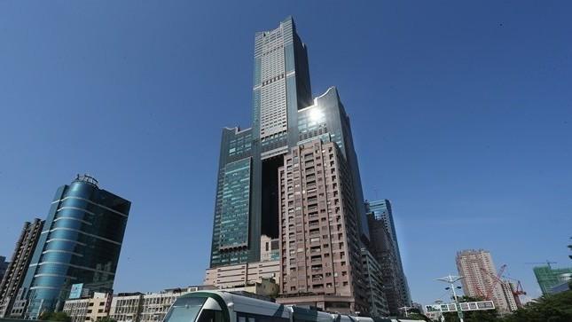 高雄地標85大樓。 報系資料照
