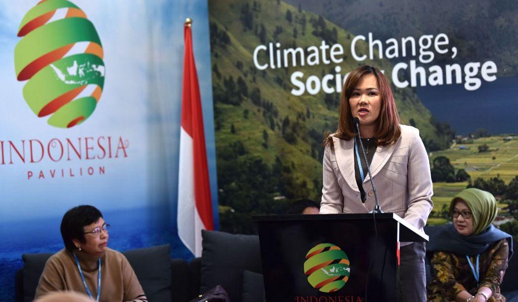 APP永續經營總監Elim Sritaba參與COP24,表達APP協助減緩氣候...