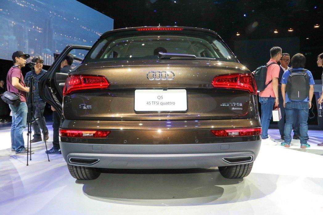 Audi Q5,非當事車。 記者史榮恩/攝影