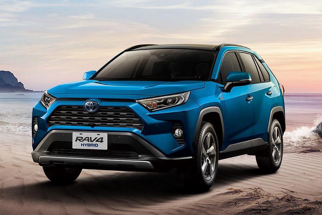 2020年式Toyota RAV4升級配備強勢登場。 圖/Toyota提供