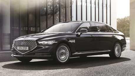 不輸Maybach的高級!  小改款Genesis G90 Limousine豪華旗艦韓國亮相