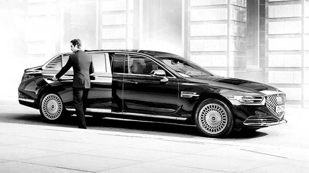 小改款Genesis G90 Limousine可說是韓國最為尊貴的豪華旗艦房車...