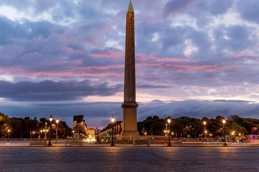 法國巴黎,協和廣場。 Agoda /提供
