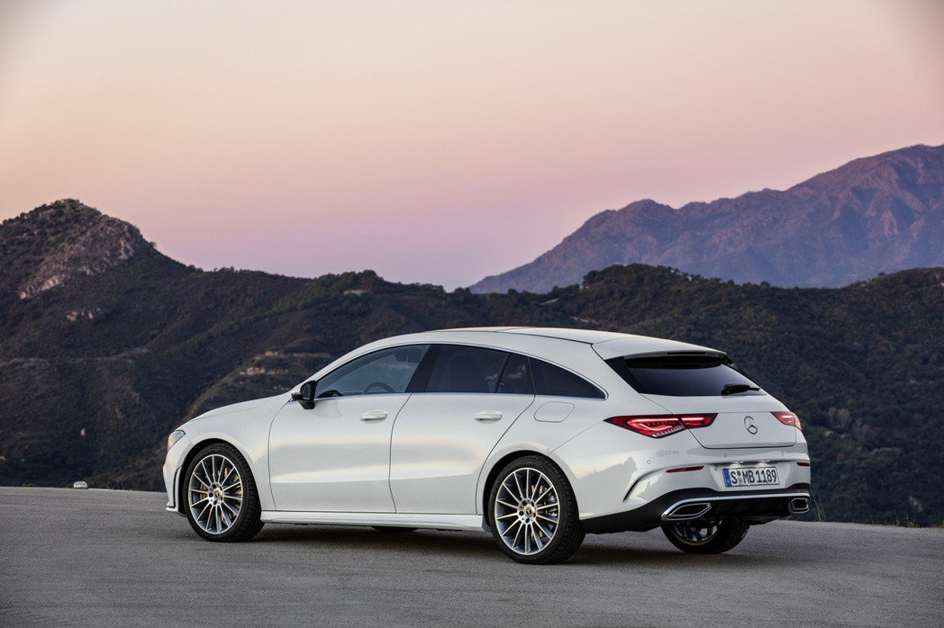 新世代Mercedes-Benz CLA Shooting Brake改善了上一...