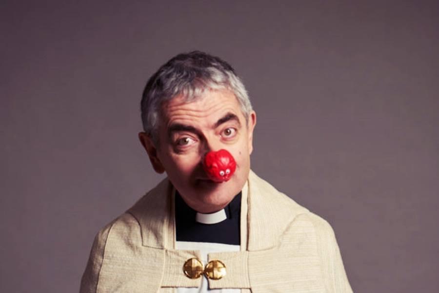 「我來搞笑,你捐錢?」豆豆先生(Rowan Atkinson)長年參與英國「喜劇...