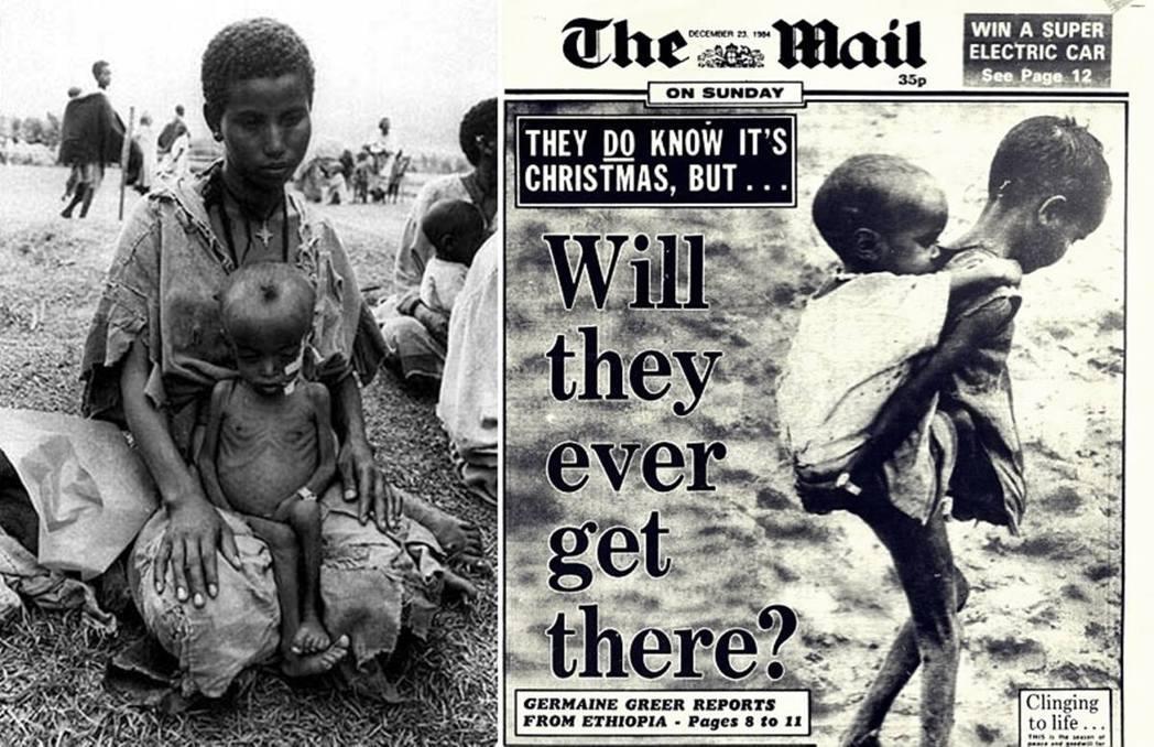 「喜劇救濟」的緣起,起初是為了80年代「衣索比亞饑荒」募款所發起。1983至19...