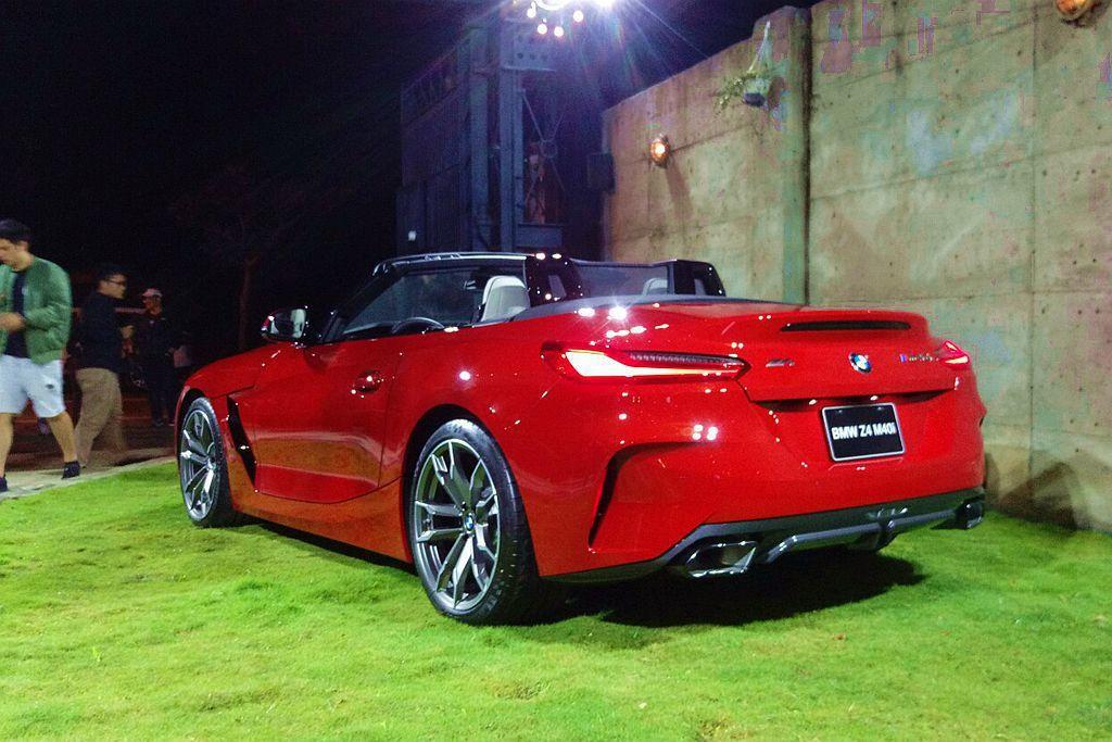 新世代BMW Z4雖然縮短26mm軸距,但車身尺碼卻更放大。 記者張振群/攝影