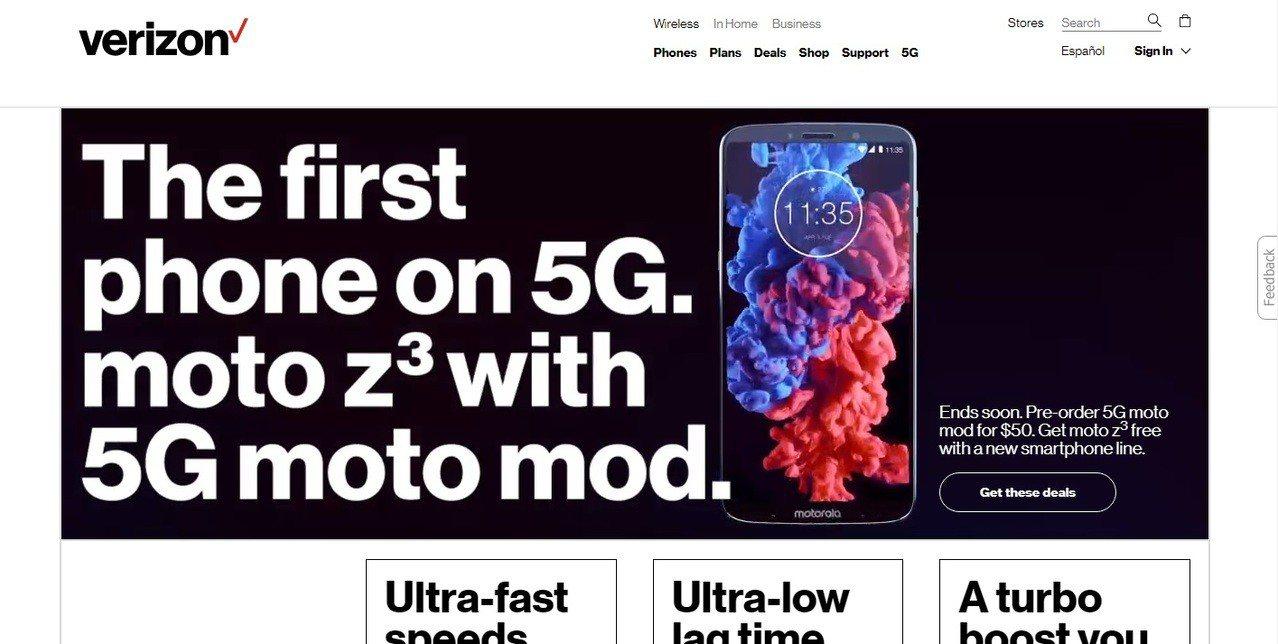 電信業者威訊將於4月11日在芝加哥、明尼亞波利斯首度試行5G行動網路,目前僅適用...