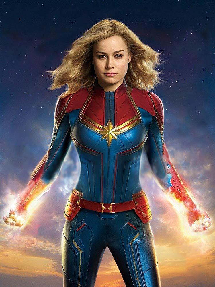 布麗拉森主演的「驚奇隊長」是漫威首部女英雄獨立電影。圖/摘自imdb