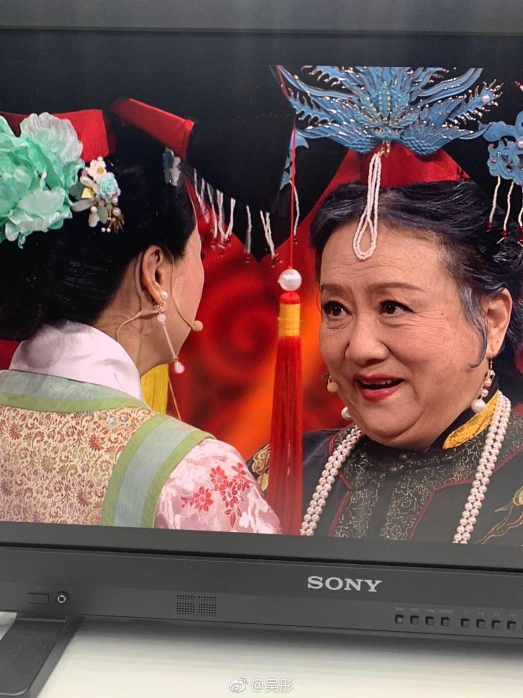 「老佛爺」趙敏芬出演「王牌對王牌」。圖/摘自微博
