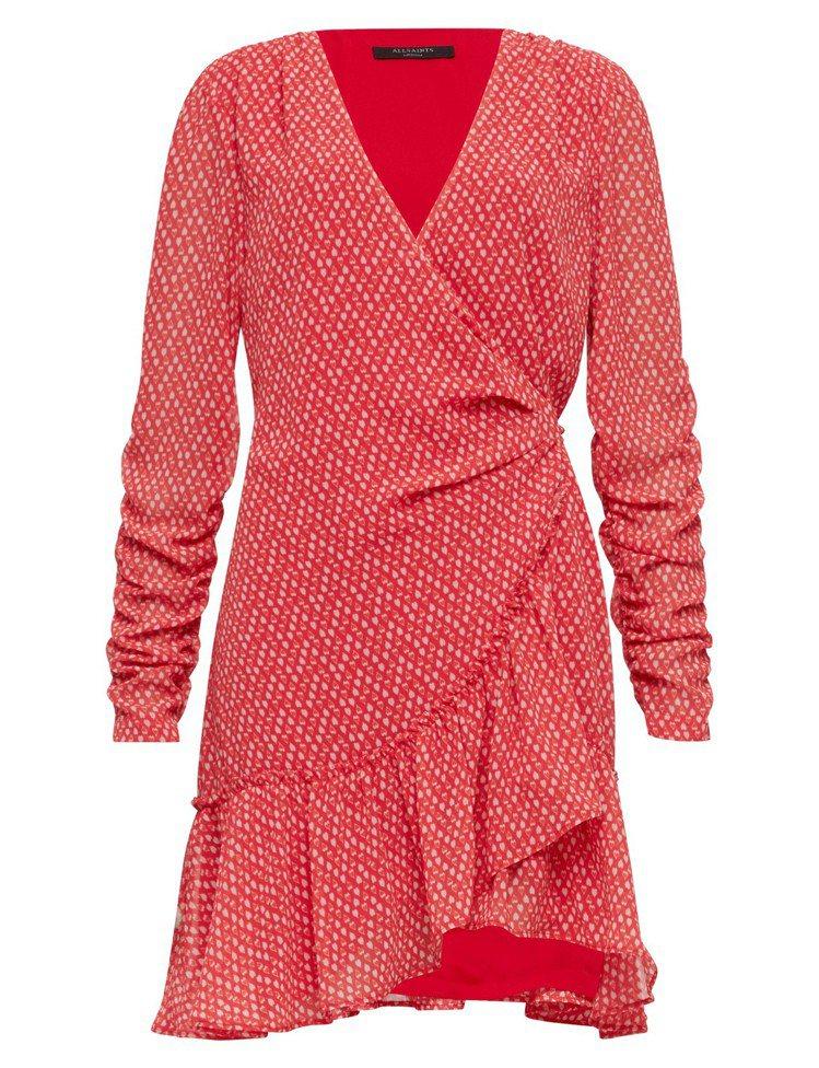 ALLSAINTS Flores印花洋裝,8,700元。圖/ALLSAINTS提...