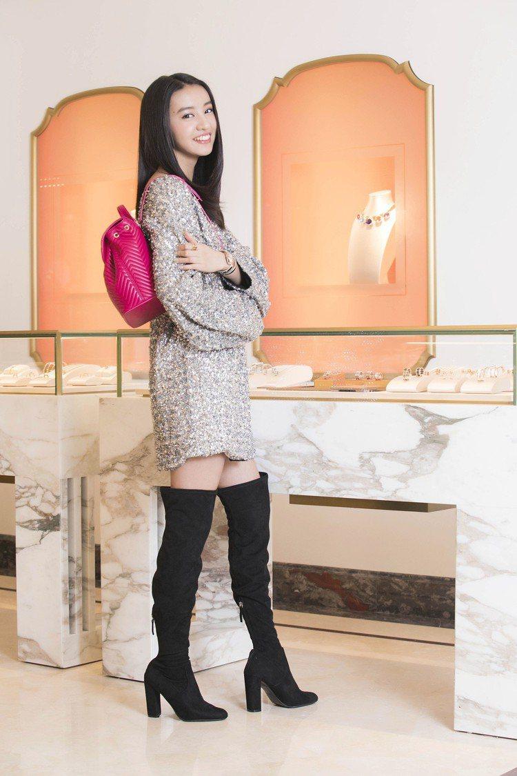 品牌大使木村光希Kōki,前往寶格麗新光三越A4專賣店,為此次盛展挑選珠寶及腕...
