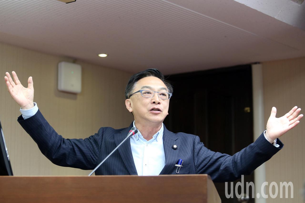 立法委員陳宜民。記者許正宏/攝影