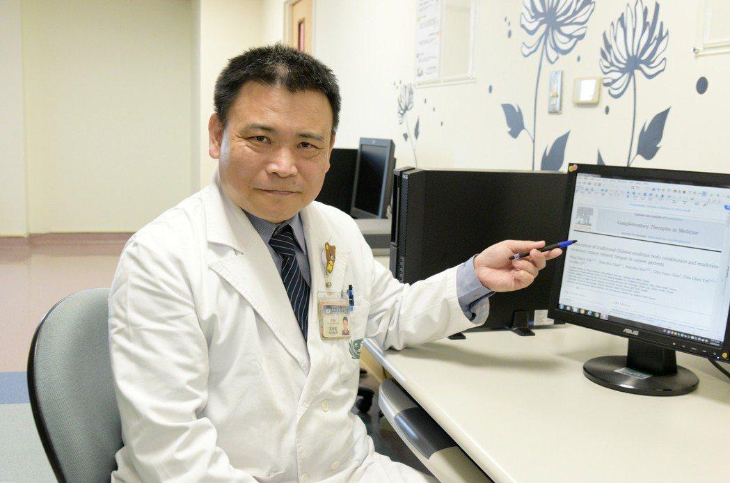 中醫部針傷科主任葉明憲。圖/大林慈濟醫院提供