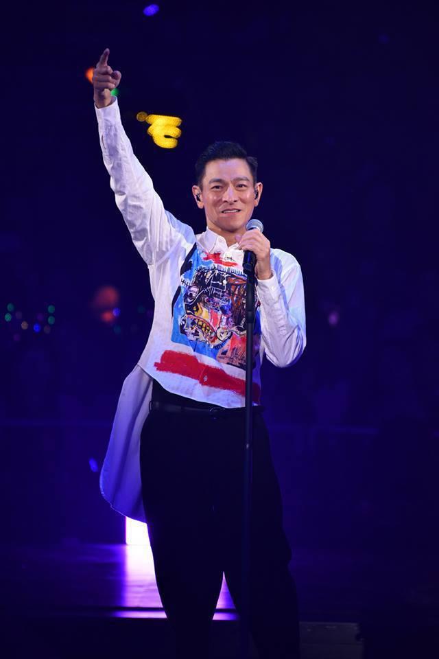 劉德華宣布今年不會舉行大陸巡演。圖/摘自臉書