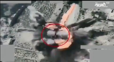 以沙烏地阿拉伯為首的多國聯軍近日以中共製的彩虹-4無人機摧毀了一輛胡塞武裝的T-...