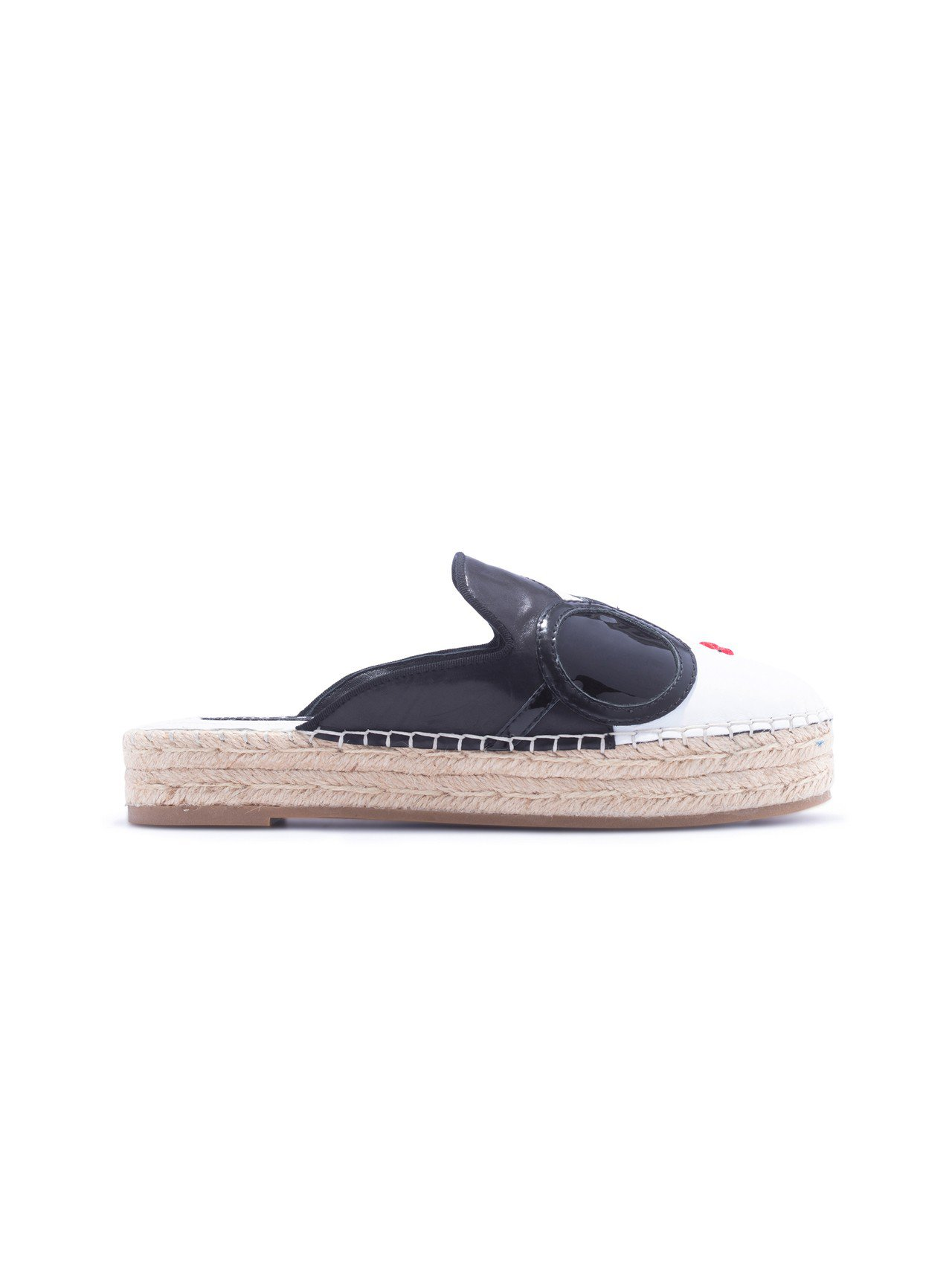 StaceFace皮革厚底拖鞋,12,900元。圖/Alice+Olivia提供