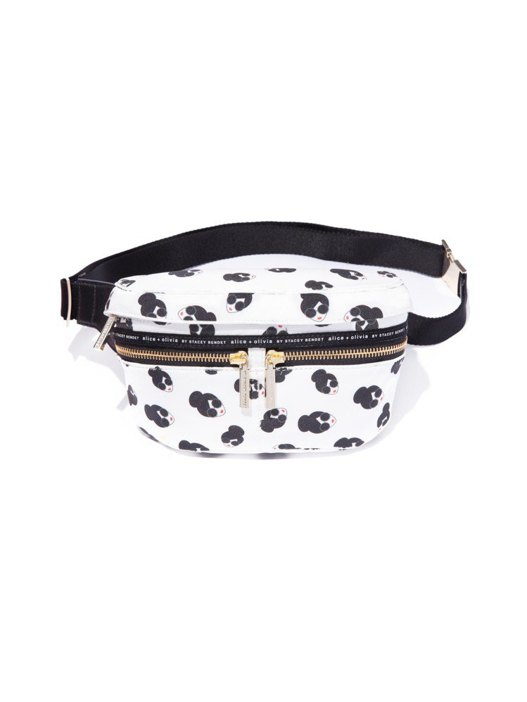 StaceFace圖紋腰包,12,500元。圖/Alice+Olivia提供