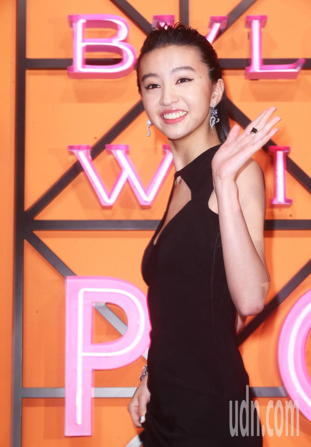 木村光希今天在台北出席寶格麗 BVLGARI 2019 WILD POP頂級珠寶...