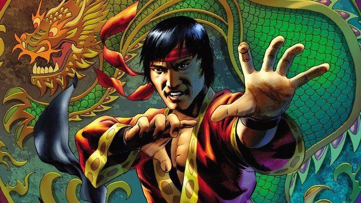 漫威華人超級英雄「上氣」,漫畫中的形象以李小龍作為藍本。圖/摘自Amazon
