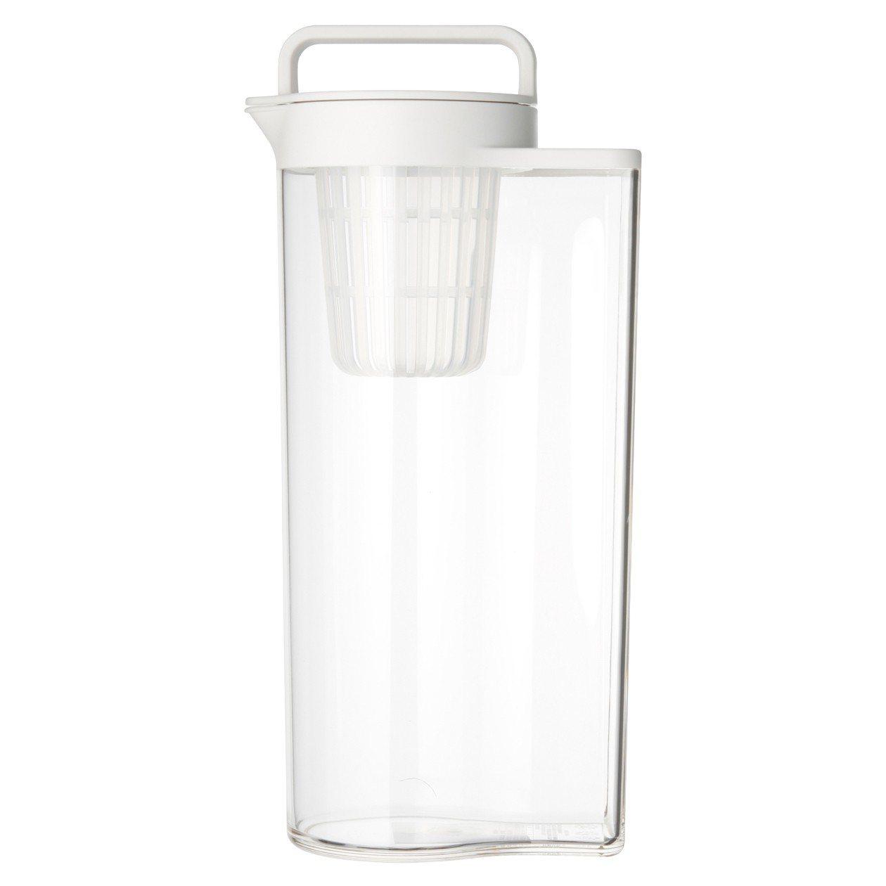 MUJI無印良品壓克力冷水筒2L,從原價390元調降為290元。圖/無印良品提供