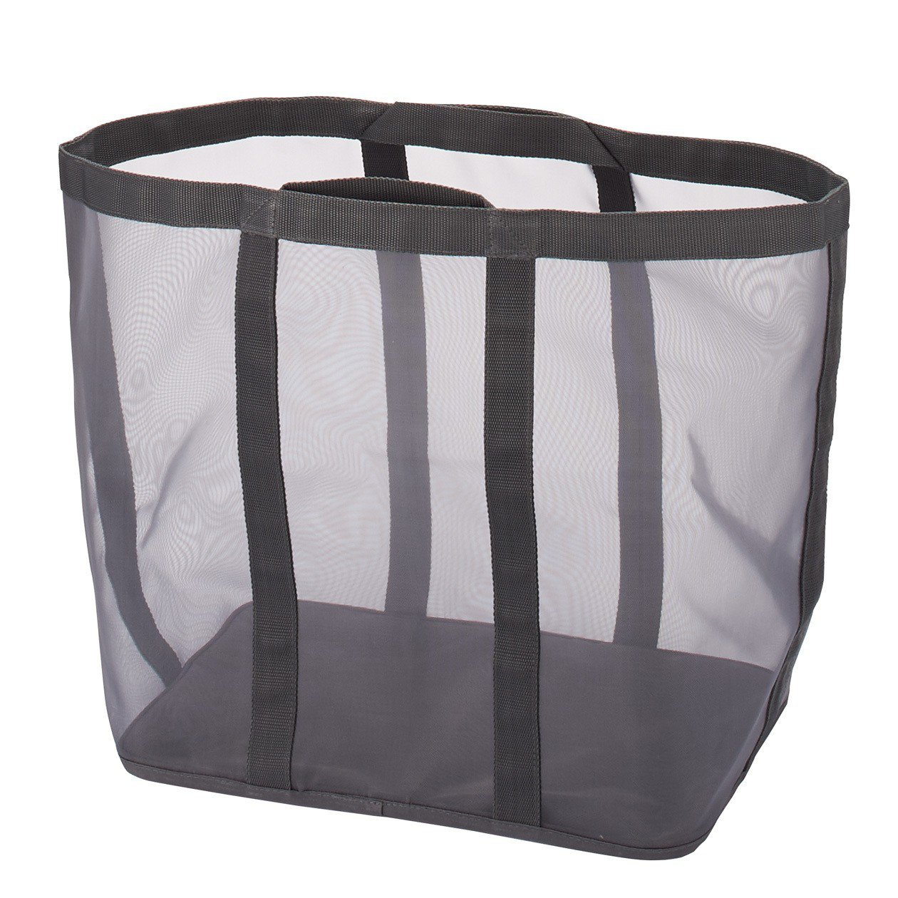 MUJI無印良品尼龍網狀洗衣籃,從原價810元調降為590元。圖/無印良品提供