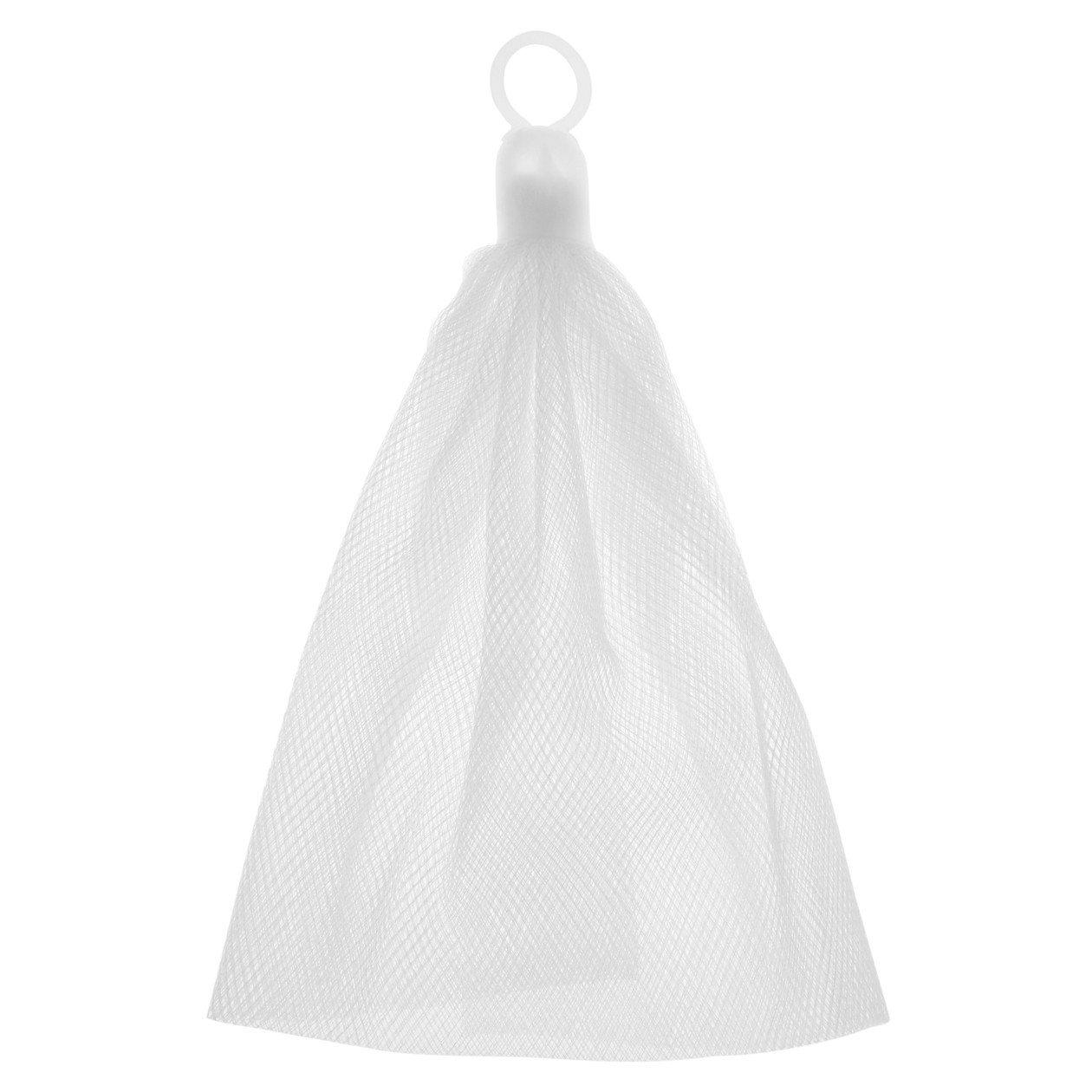 MUJI無印良品洗臉用網狀起泡網,從原價60元調降為39元。圖/無印良品提供