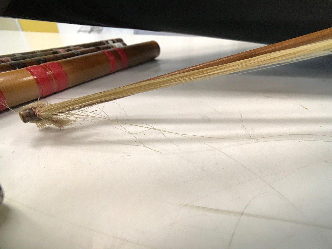 台西新興國小學生用破舊的樂器,接手別人淘汰的樂器,勤練有成,拿下縣國樂賽冠軍,並...