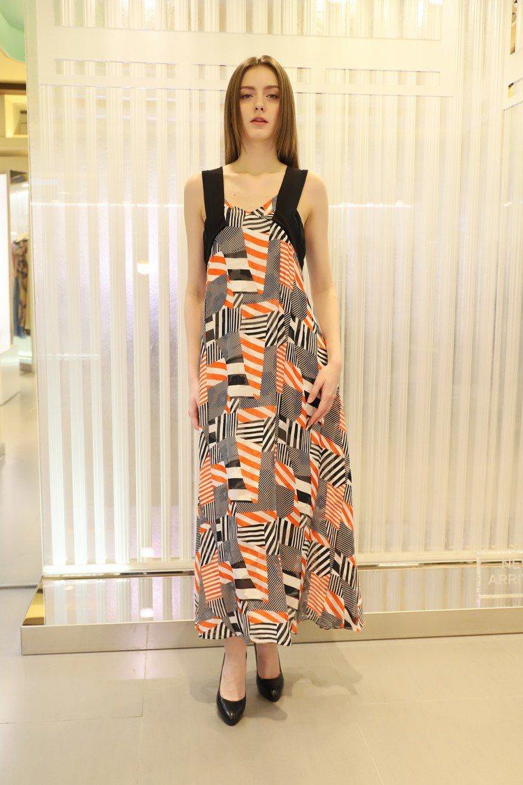 Olympus系列明亮的紅、橘色為服裝帶來更活潑的氛圍。圖/MARYLING提供