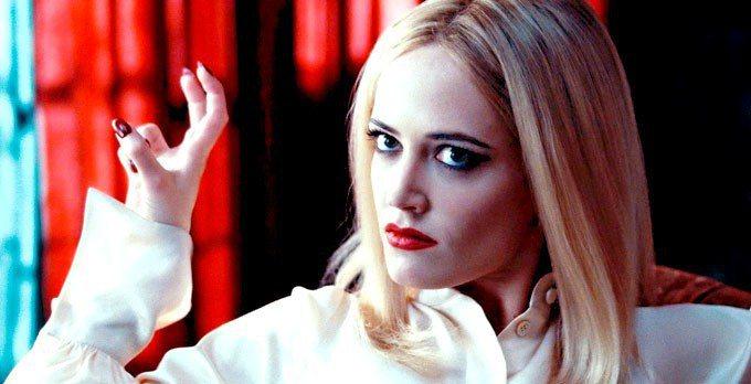 伊娃葛林銀幕形象走「妖女系」風格。圖/摘自Cinematic Paradox