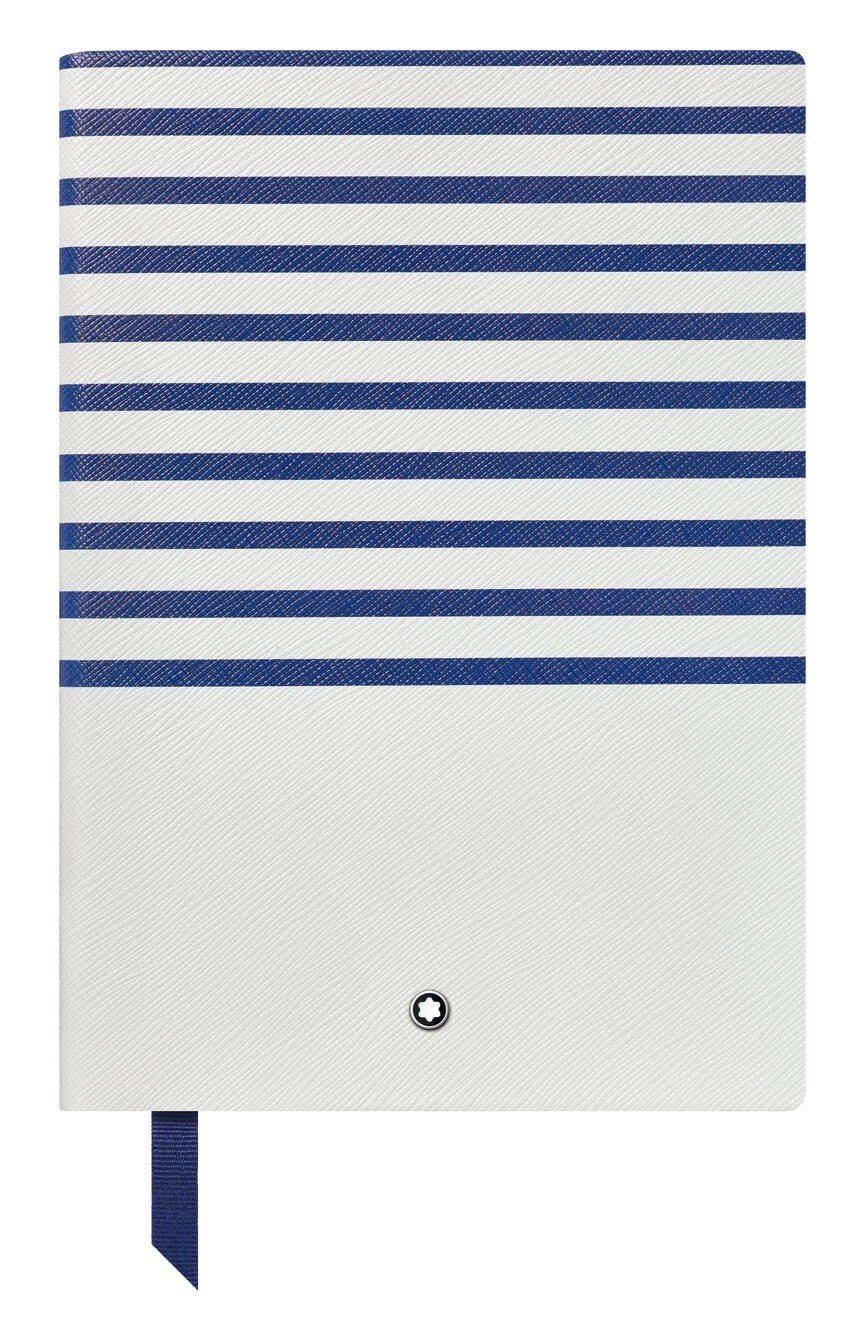 萬寶龍頂級文具幸運系列蔚藍週末筆記本#146,2,600元。圖/萬寶龍提供