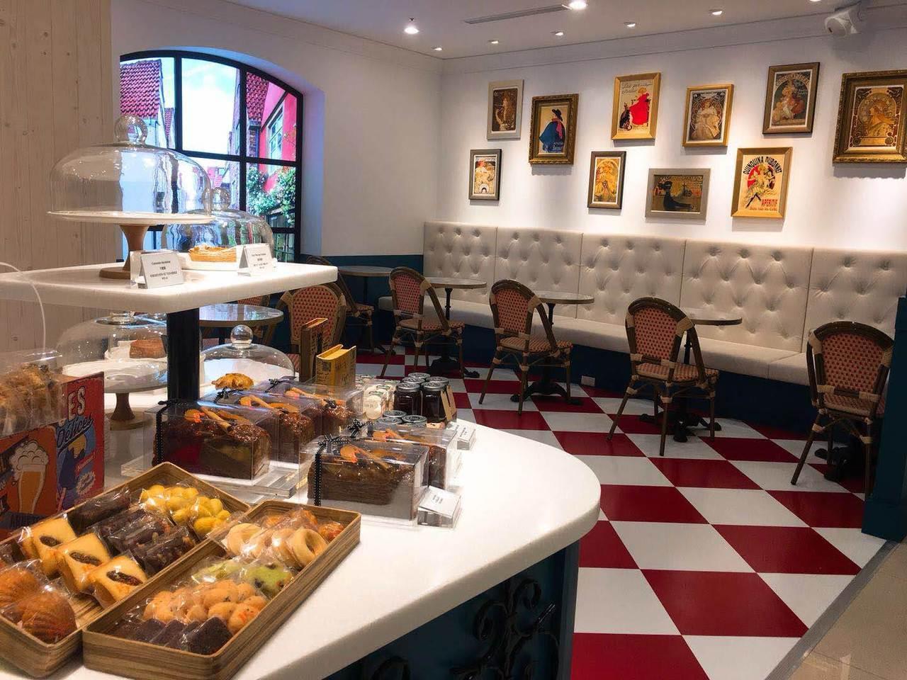 巴黎十五提供法式輕食、甜點。圖/業者提供